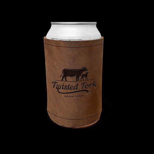 Custom Order Mike H - Leather Can Sleeve 20200528