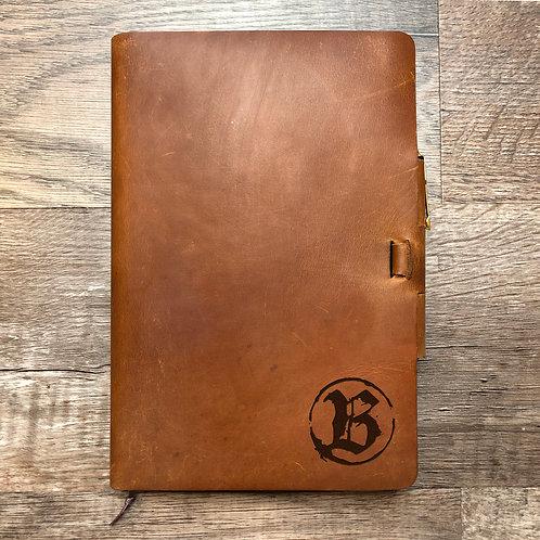 Custom Order Adam B - Classic Cut - Refillable Leather Journal 20210201