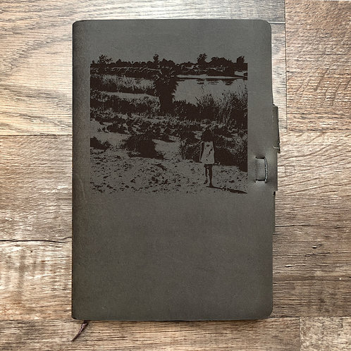 Custom Order Nick C - Classic Cut - Refillable Leather Journal 202012
