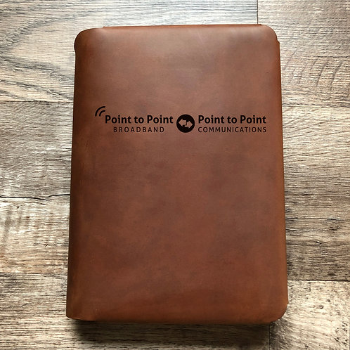 Custom Order Tracy M - Travel Cut - Refillable Leather Folio 20210219
