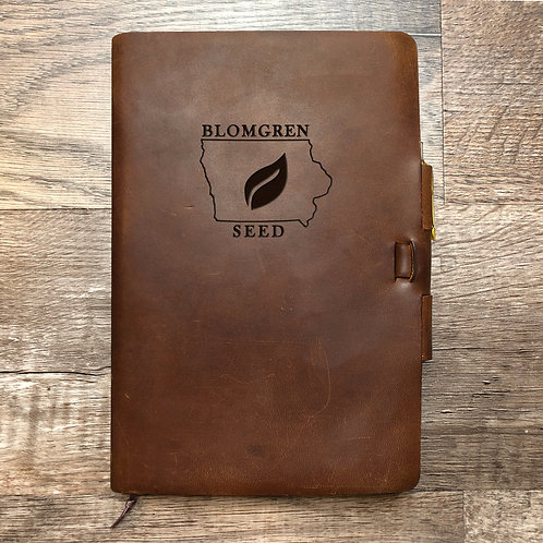 Custom Order Ryan T - Classic Cut - Refillable Leather Journal 20201013 seed
