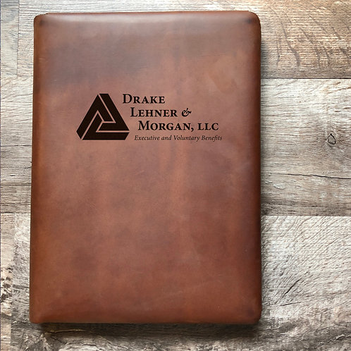 Custom Order Phil M - Executive Cut - Refillable Leather Folio 20210210