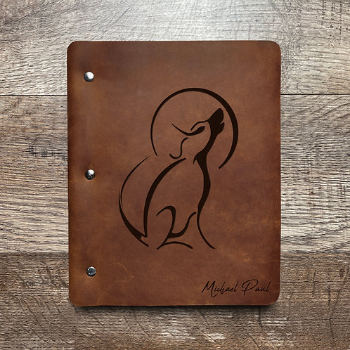 Custom Order Mike P - Slim Cut - Refillable Leather Binder Presale 20200807