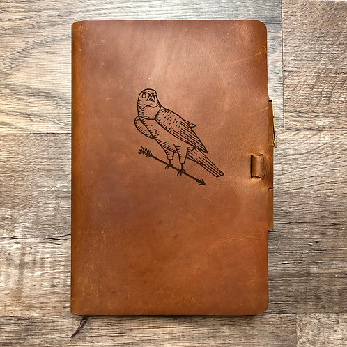 Custom Order Brianna B - Classic Cut - Refillable Leather Journal 20201022