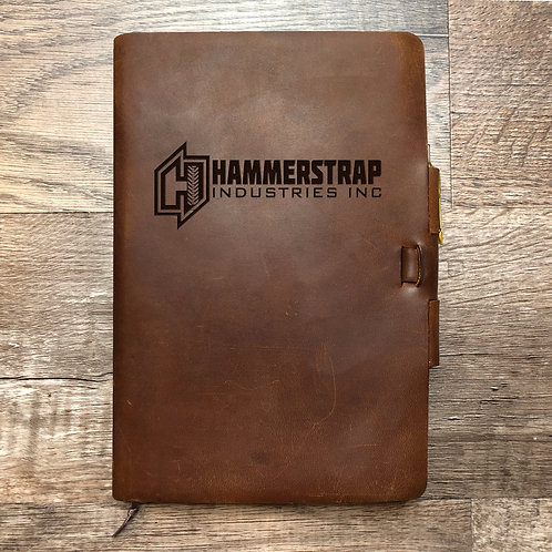 Custom Order adechant - Classic Cut - Refillable Leather Journal 20210209