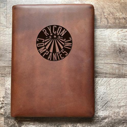 Custom Order Emily C - Executive Cut - Refillable Leather Folio 20201214