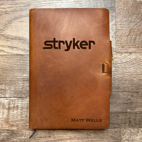 Custom Order Matt W - Classic Cut - Refillable Leather Journal 20201127