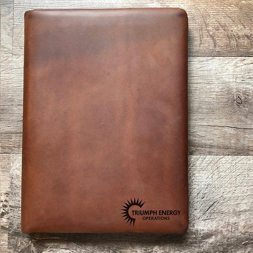 Custom Order Jason W - Executive Cut - Refillable Leather Folio 20201028