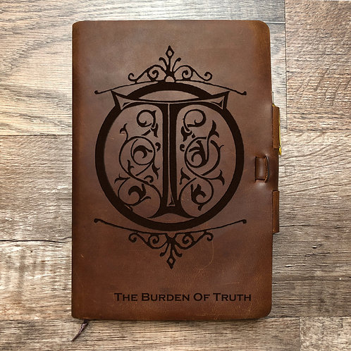 Custom Order Spuds M - Classic Cut - Refillable Leather Journal 20200821