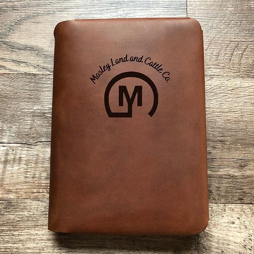Custom Order Jeffrey M - Travel Cut - Refillable Leather Folio 20210107