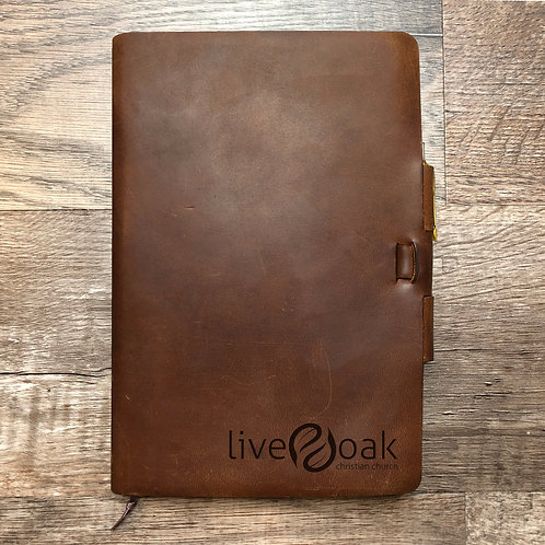 Custom Order Michael B - Classic Cut - Refillable Leather Journal 20210125 2