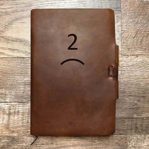 Custom Order Michael S - Classic Cut - Refillable Leather Journal 20210107