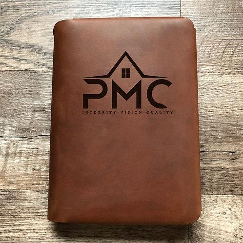 Custom Order Michael O - Travel Cut - Refillable Leather Folio 20200703