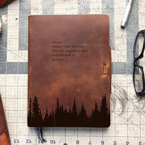 Custom Order Rylee S - Metric Cut - Refillable Leather Journal 20201130