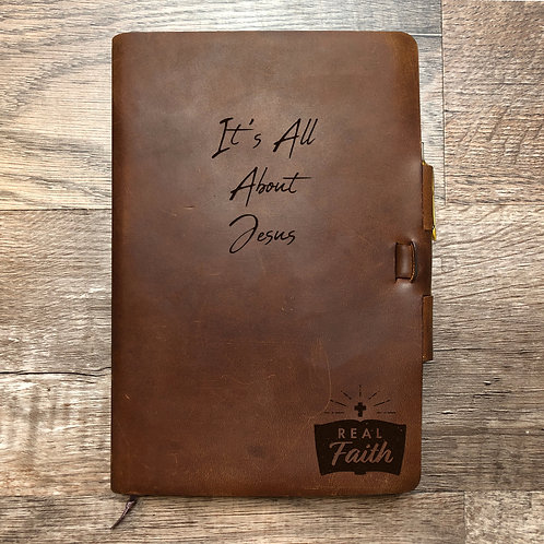 Custom Order Ashley C - Classic Cut - Refillable Leather Journal 20201118