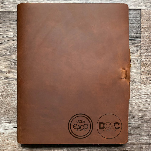 Custom Order Nada M - Composition Cut - Refillable Leather Journal 20210209