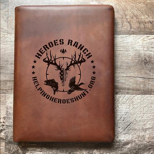 Custom Order Cameron G - Executive Cut - Refillable Leather Folio 20200804