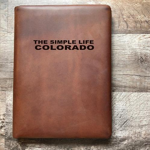 Custom Order Megan L - Executive Cut - Refillable Leather Folio 20201221