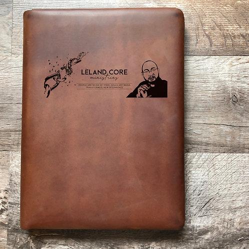 Custom Order Leland C - Executive Cut - Refillable Leather Folio 20210211