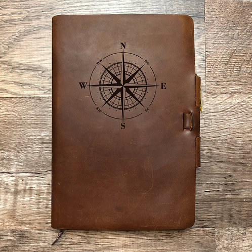 Custom Order Jordan D - Classic Cut - Refillable Leather Journal 20200908
