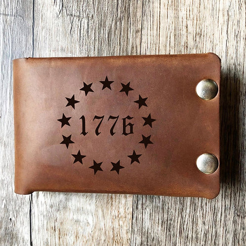 Custom Order David K Leather Wallet 20200522