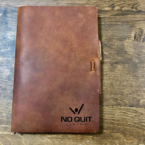 Custom Order Chris W - Classic Cut - Refillable Leather Journal 20200917 v2