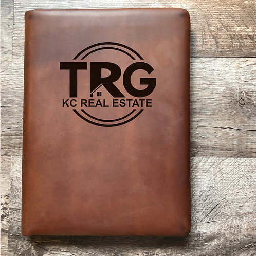 Custom Order Jimmie R - Executive Cut - Refillable Leather Folio 20201027