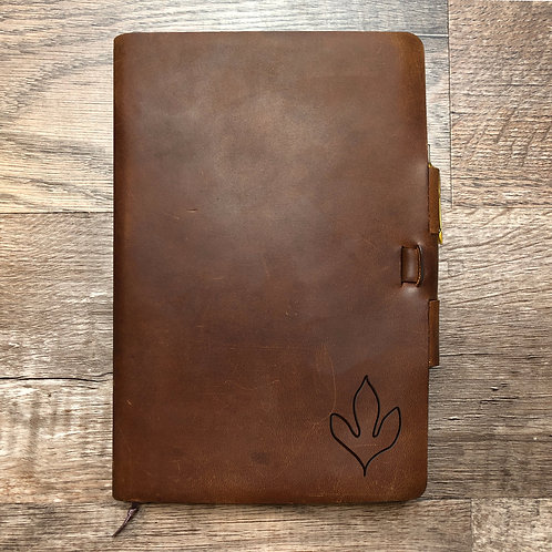Custom Order Airiel B - Classic Cut - Refillable Leather Journal 20201109