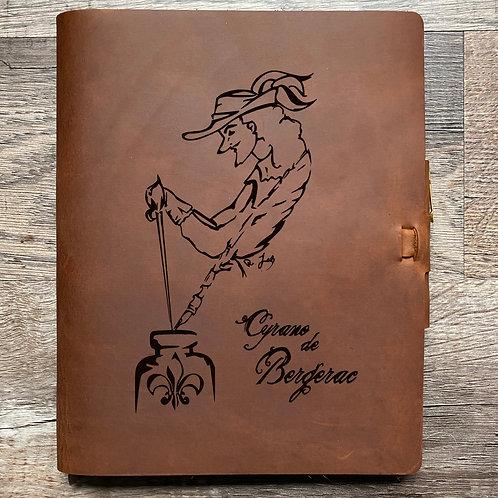 Custom Order Julianna - Composition Cut - Refillable Leather Journal 20210216
