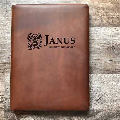 Custom Order Jeff L - Executive Cut - Refillable Leather Folio 20210104