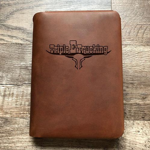 Custom Order Raul T - Travel Cut - Refillable Leather Folio 20201105