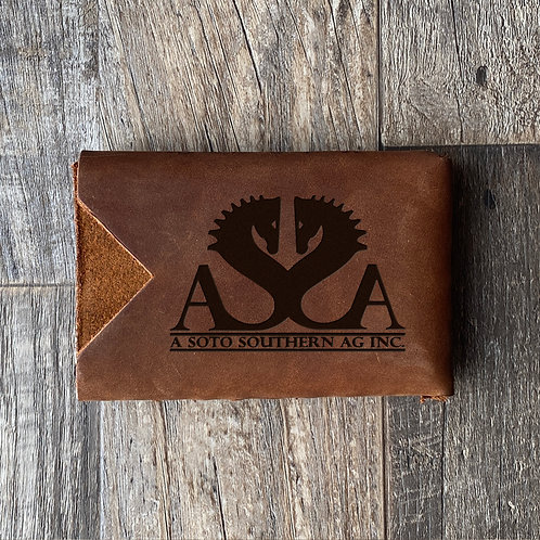 Custom Order Adrian S - Minimalist Leather Wallet 20210209