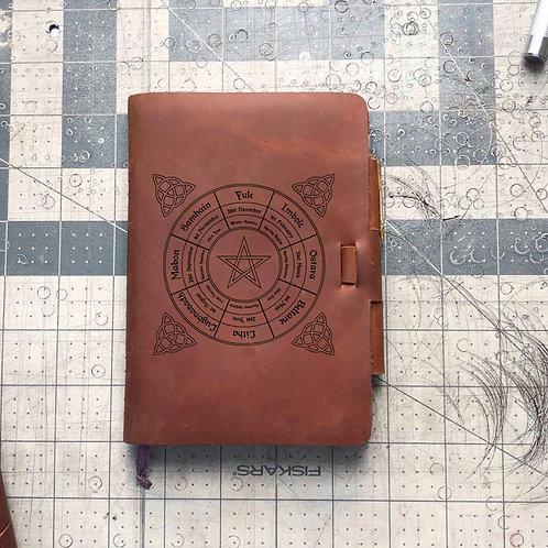 Custom Order Sonia M - Mini Cut - Refillable Leather Journal 20200615