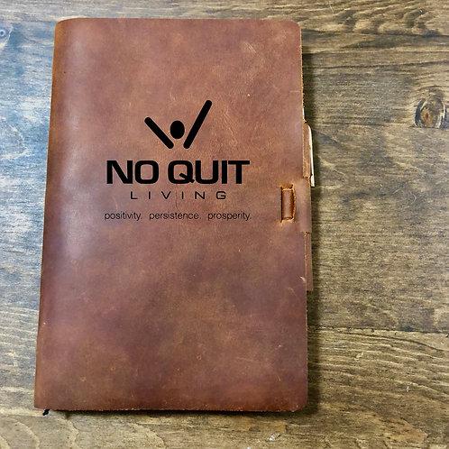 Custom Order Chris W - Classic Cut - Refillable Leather Journal 20200917 v1