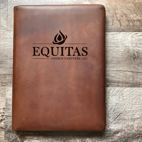 Custom Order Eloy M - Executive Cut - Refillable Leather Folio 20201201