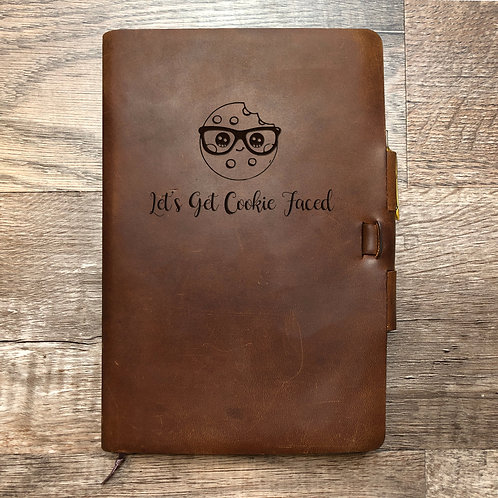 Custom Order Charles C - Classic Cut - Refillable Leather Journal 20210120