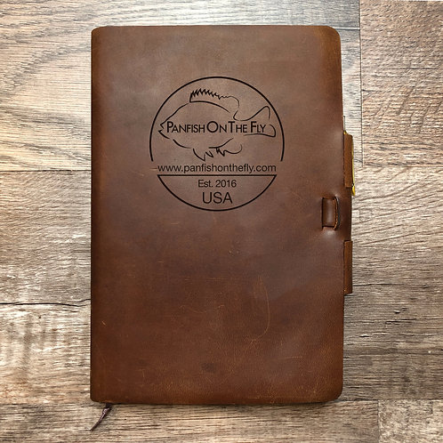 Custom Order Bart L - Classic Cut - Refillable Leather Journal 20200818