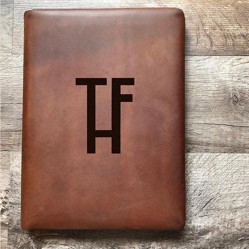 Custom Order Matt T - Executive Cut - Refillable Leather Folio 20200925