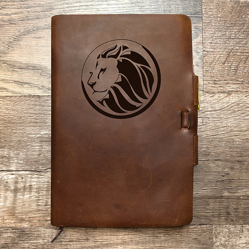 Custom Order DJ S - Classic Cut - Refillable Leather Journal 20201112