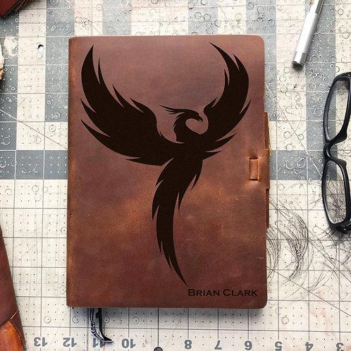 Custom Order Samantha C - Metric Cut - Refillable Leather Journal 20201230