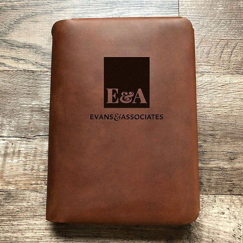 Custom Order Gerard E - Travel Cut - Refillable Leather Folio 20210126