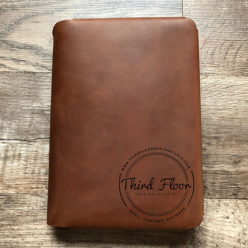 Custom Order Brandon H - Travel Cut - Refillable Leather Folio 20201209