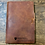 Thumbnail: Custom Order Chris R - Classic Cut - Refillable Leather Journal 20200915