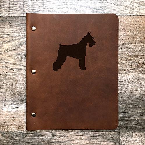 Custom Order Ajmelgoza  - Slim Cut - Refillable Leather Binder 20200731