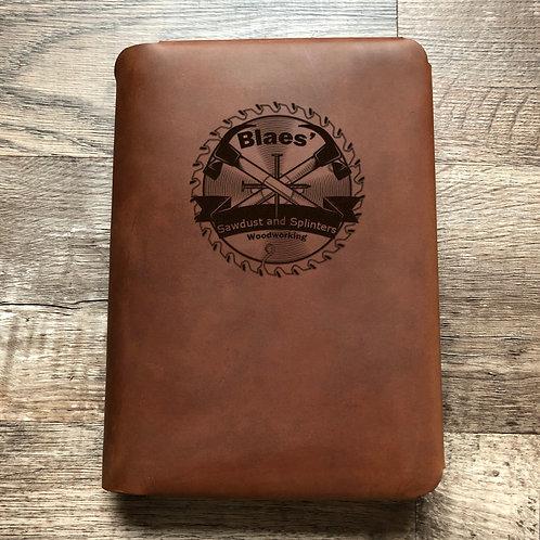 Custom Order Jim B - Travel Cut - Refillable Leather Folio 20201202