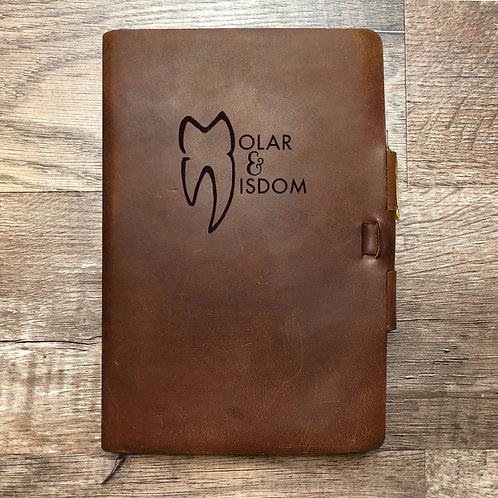 Custom Order Tyson T - Classic Cut - Refillable Leather Journal 20210208
