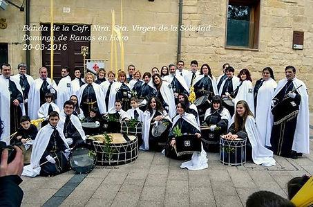 Banda de La Virgen de la Soledad de Logroño