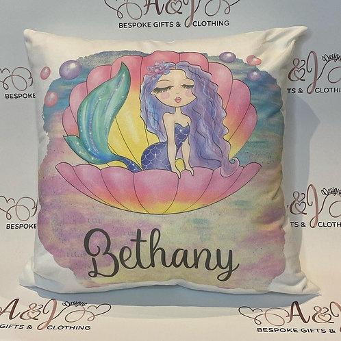 Personalised Mermaid Cushion