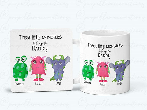 Little Monsters Belong To Mug Set