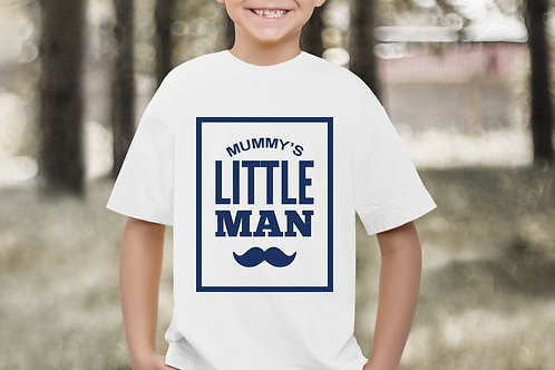 Mummy's Little Man T-Shirt